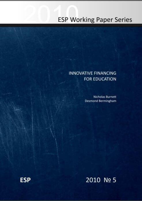 Innovative Financing for Education - Burnett & Bermingham