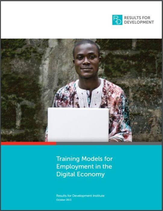 Training Models for the Digital Economy