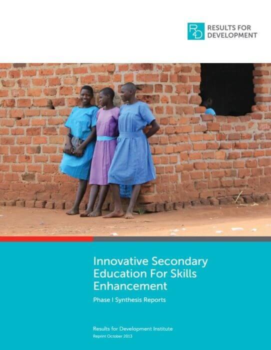 InnovativeSecondaryEducationSkillsEnhancement