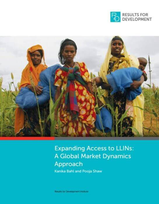 R4D Expanding Access to LLINs - report cover