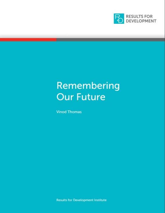 Remember our Future - Report cover