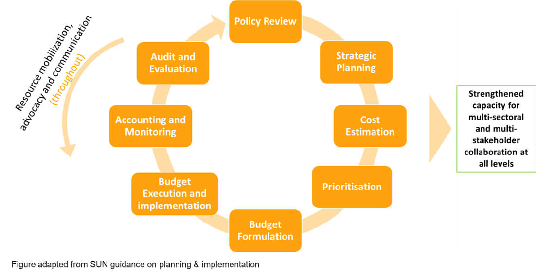 SUN Policy and Budget Management Cycle