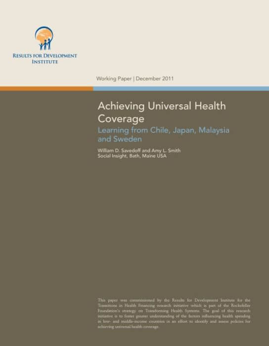 UHC Lessons from Chile Sweden Japan